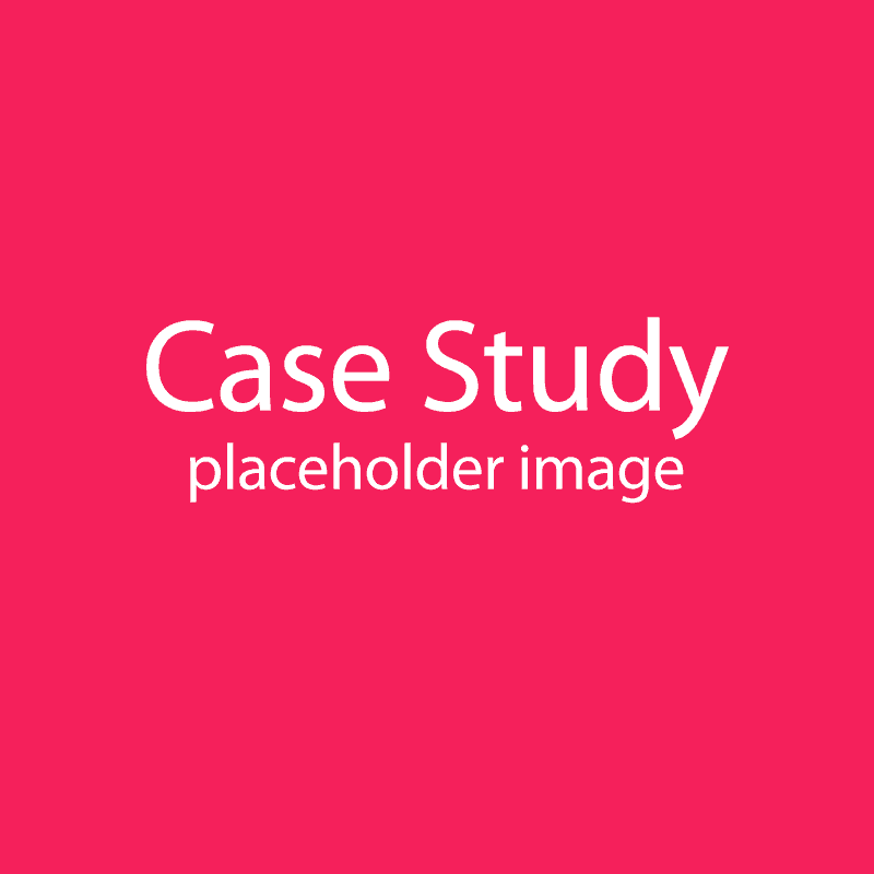Placeholder image – Case study